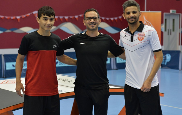 Bahrain has crowned its first national teqball champions ©BOC