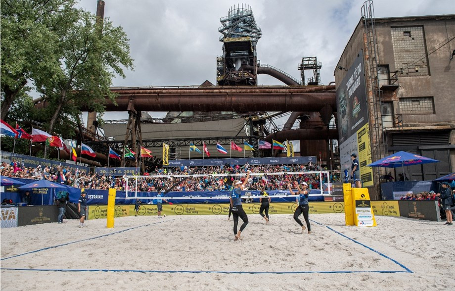 Ukrainians earn stunning FIVB Beach World Tour qualification in Ostrava