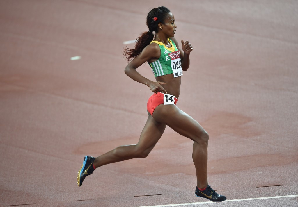 Genzebe Dibaba gets the nod in the women's middle and long distance category