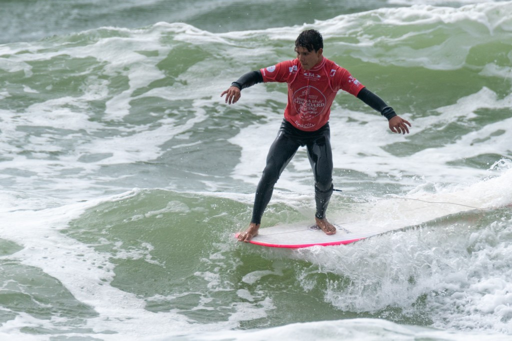 Jonathan Melendres of Mexico was among the star performers in the men's event ©ISA