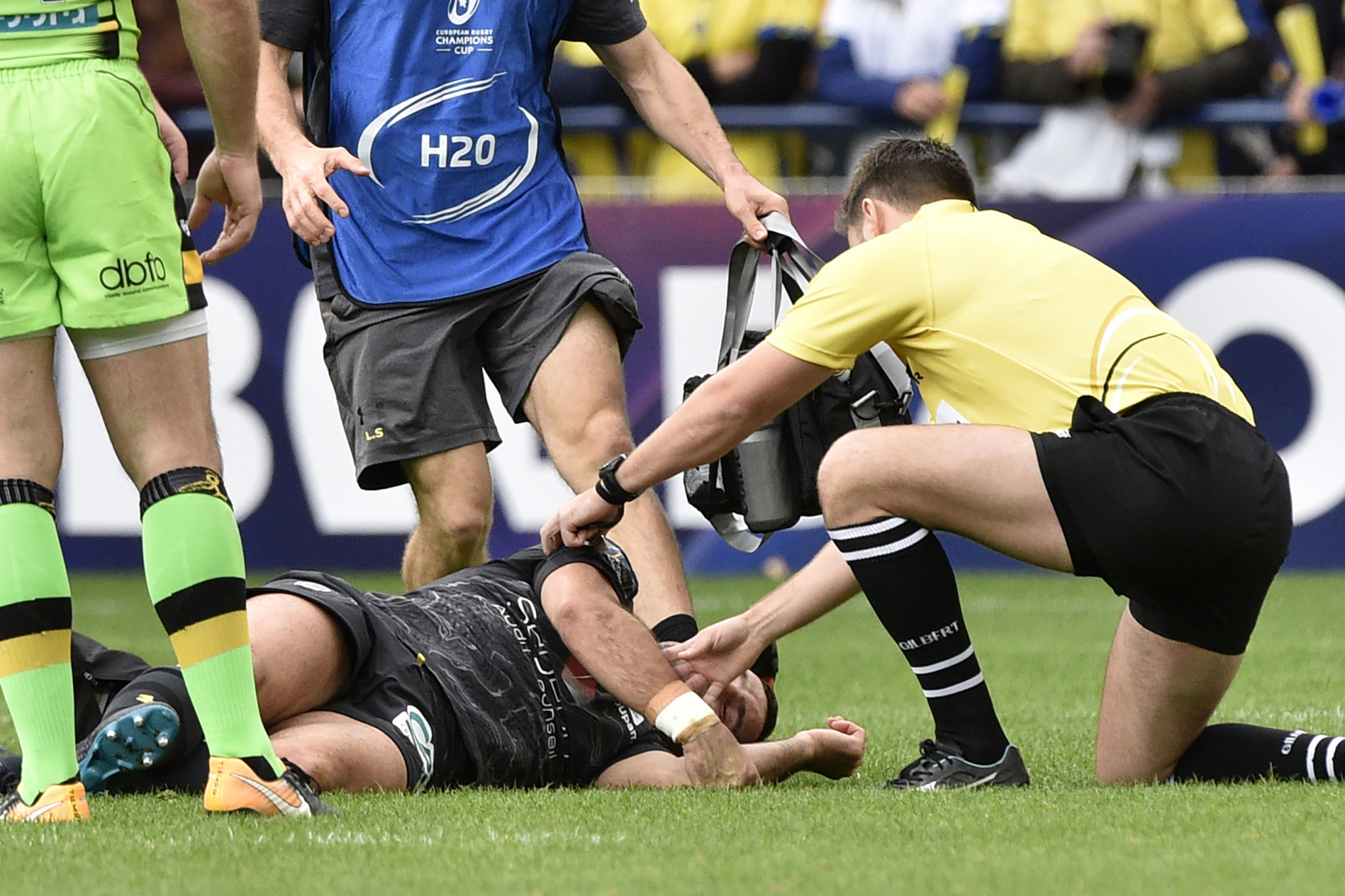 World Rugby is taking an evidence-based approach to reducing the risk of concussion ©Getty Images