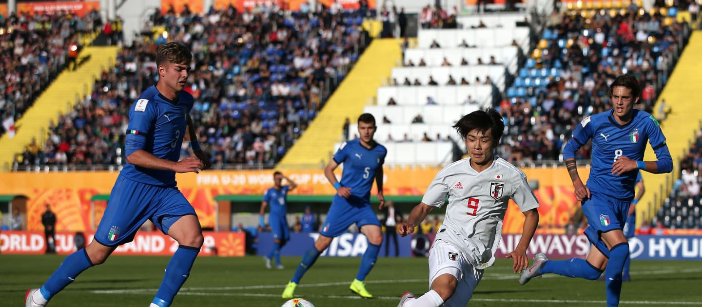 Japan through to round of 16 after goalless draw with Group B winners Italy at FIFA Under-20 World Cup