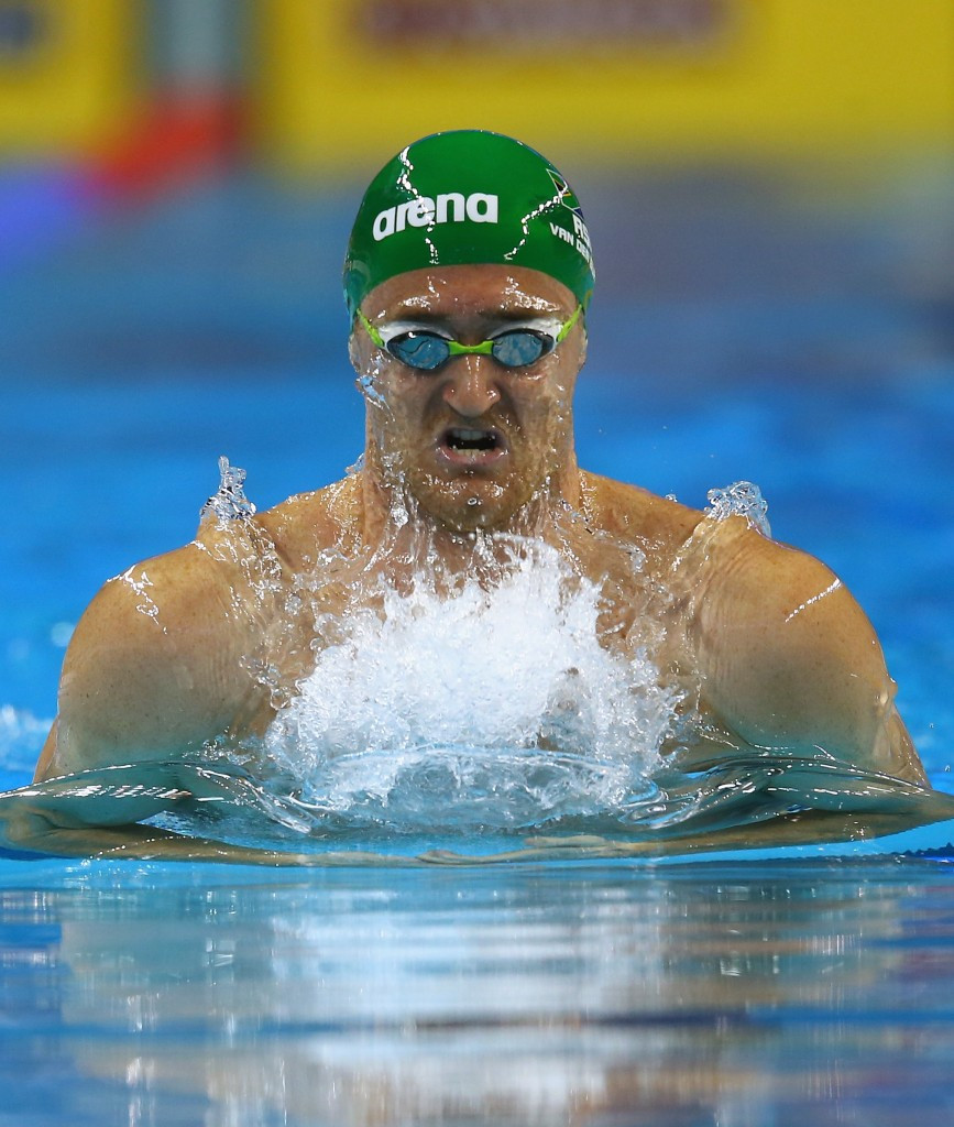 Cameron Van der Burgh was in good form again in Doha ©Getty Images