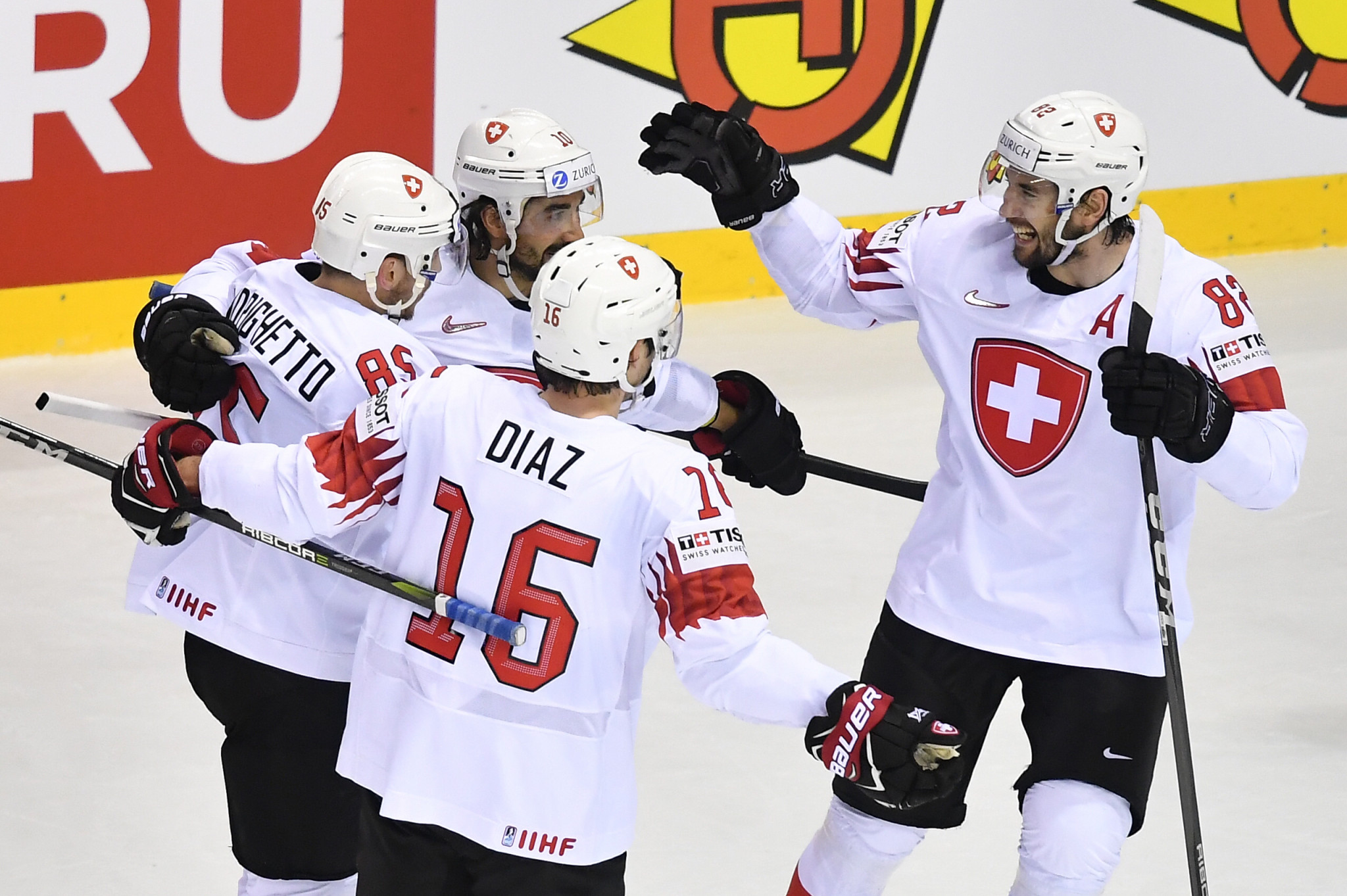 Hosts Switzerland will compete in the 2020 IIHF World Championships alongside 15 other teams ©Getty Images