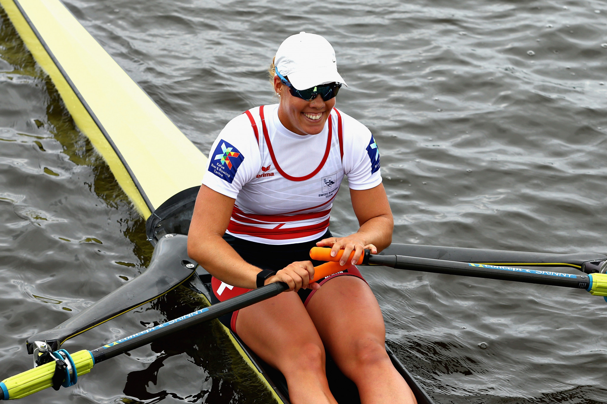 Defending champion Gmelin aiming to delight home crowd at European Rowing Championships