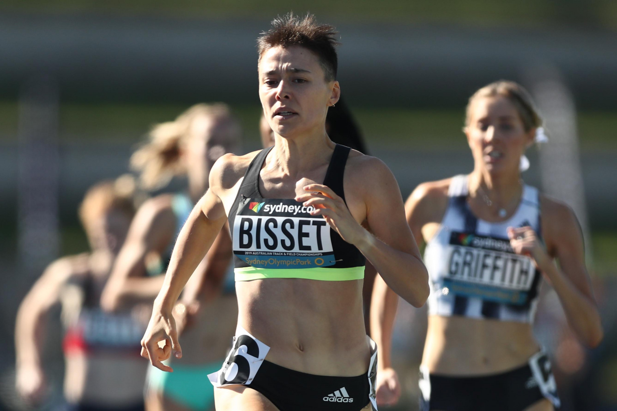 Catriona Bisset recorded the fourth fastest 800m time by an Australian woman at the Australian UniSport National Championships in April ©Getty Images
