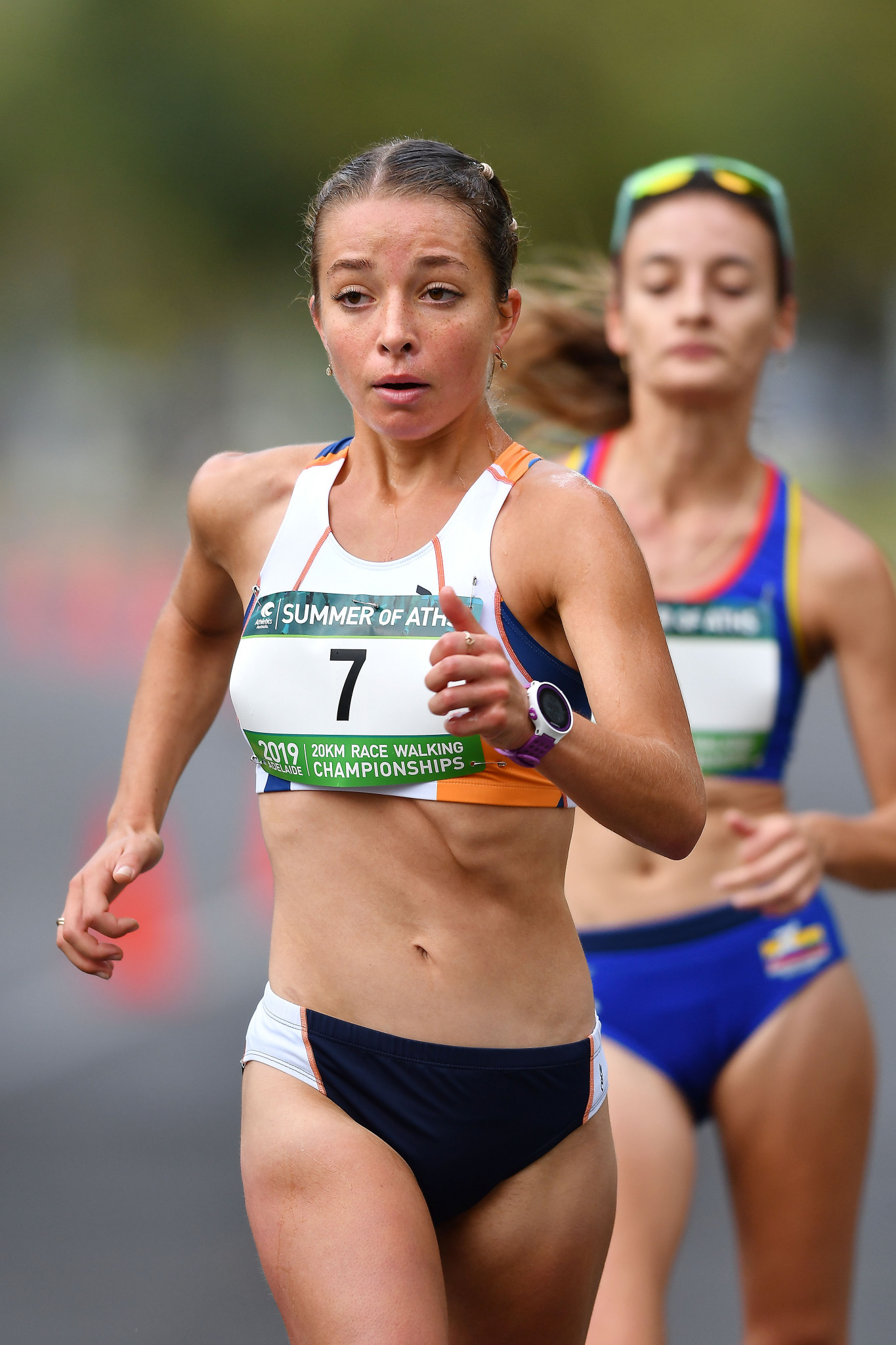 Commonwealth Games 20 kilometres racewalk champion Jemima Montag has been named in the Australian team for the 2019 Summer Universiade in Naples ©Getty Images