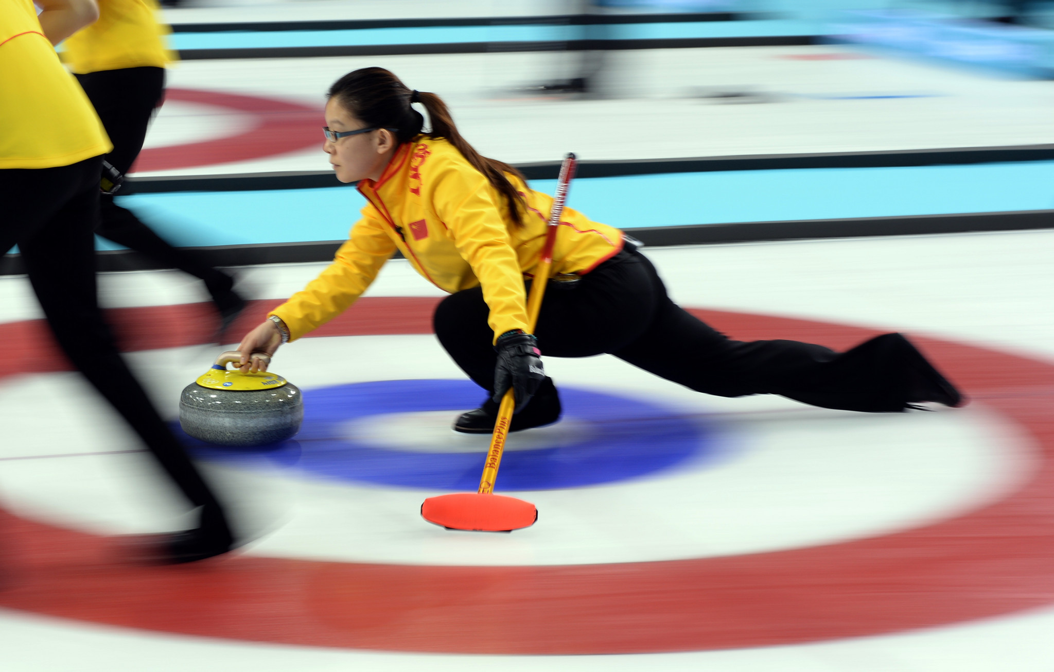 Chinese curling star Wang Bingyu was recently announced as the programme director for the sport at the Beijing 2022 Winter Olympic Games ©Getty Images