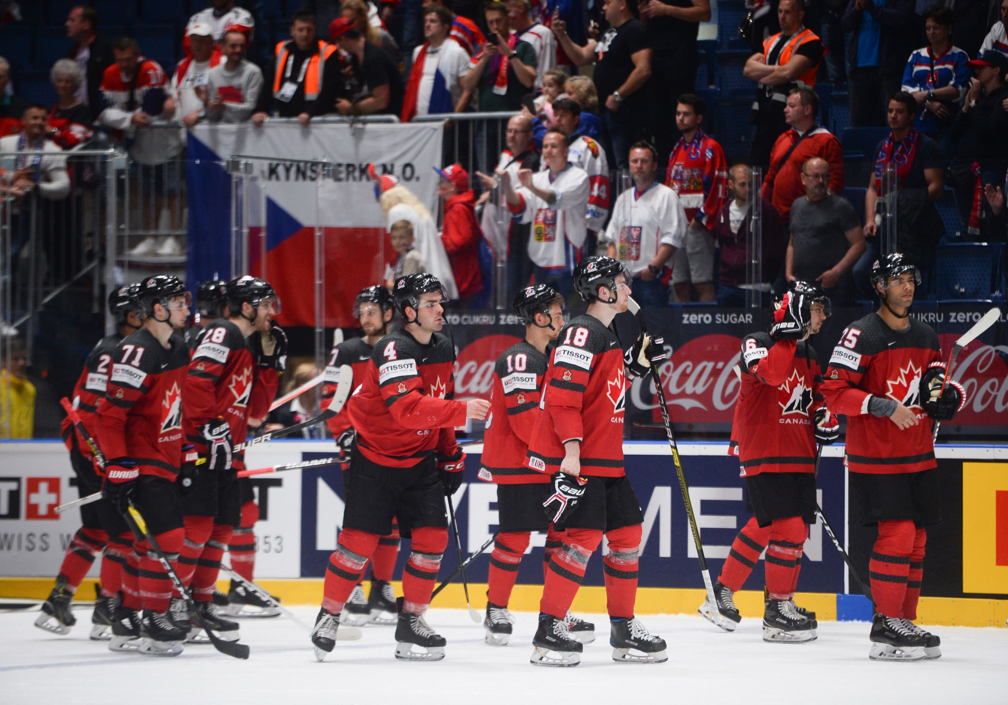 Canada currently lead the IIHF men's world ranking ©Getty Images