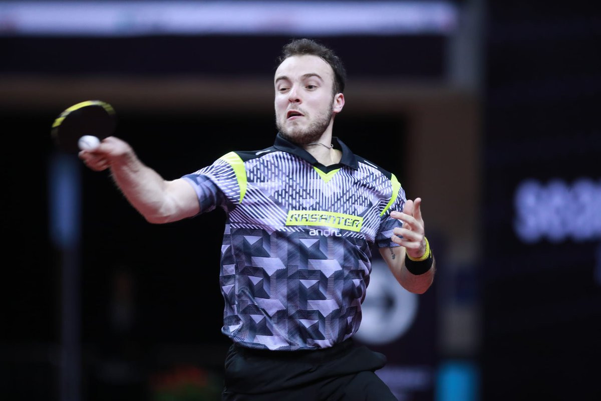 France's Simon Gauzy was very much the player in form in the opening round of the men's singles event at the ITTF China Open in Shenzhen, beating sixth seed Lee Sangsu of South Korea in five games ©ITTF World/Twitter