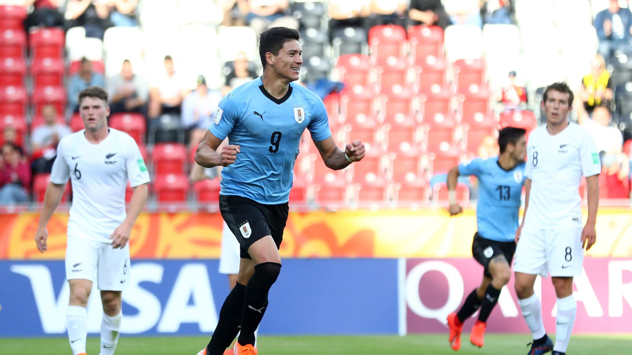 Uruguay end group stage with perfect record as nine-goal Håland and Norway make history at FIFA Under-20 World Cup