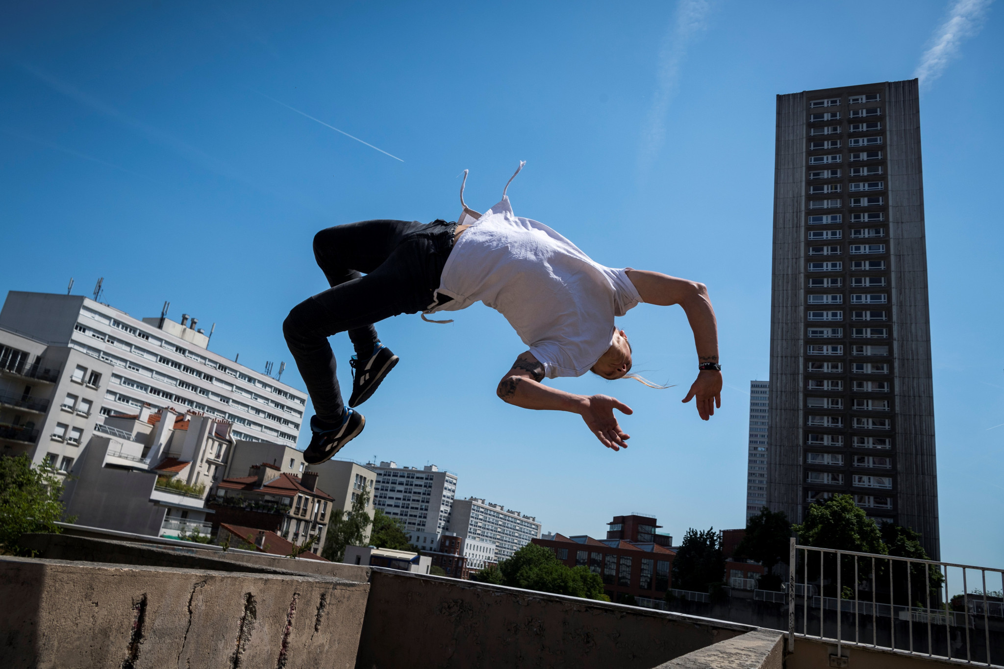 France's Johan Tonnoir is targeting redemption at the Parkour World Cup in Montpellier ©GettyImages