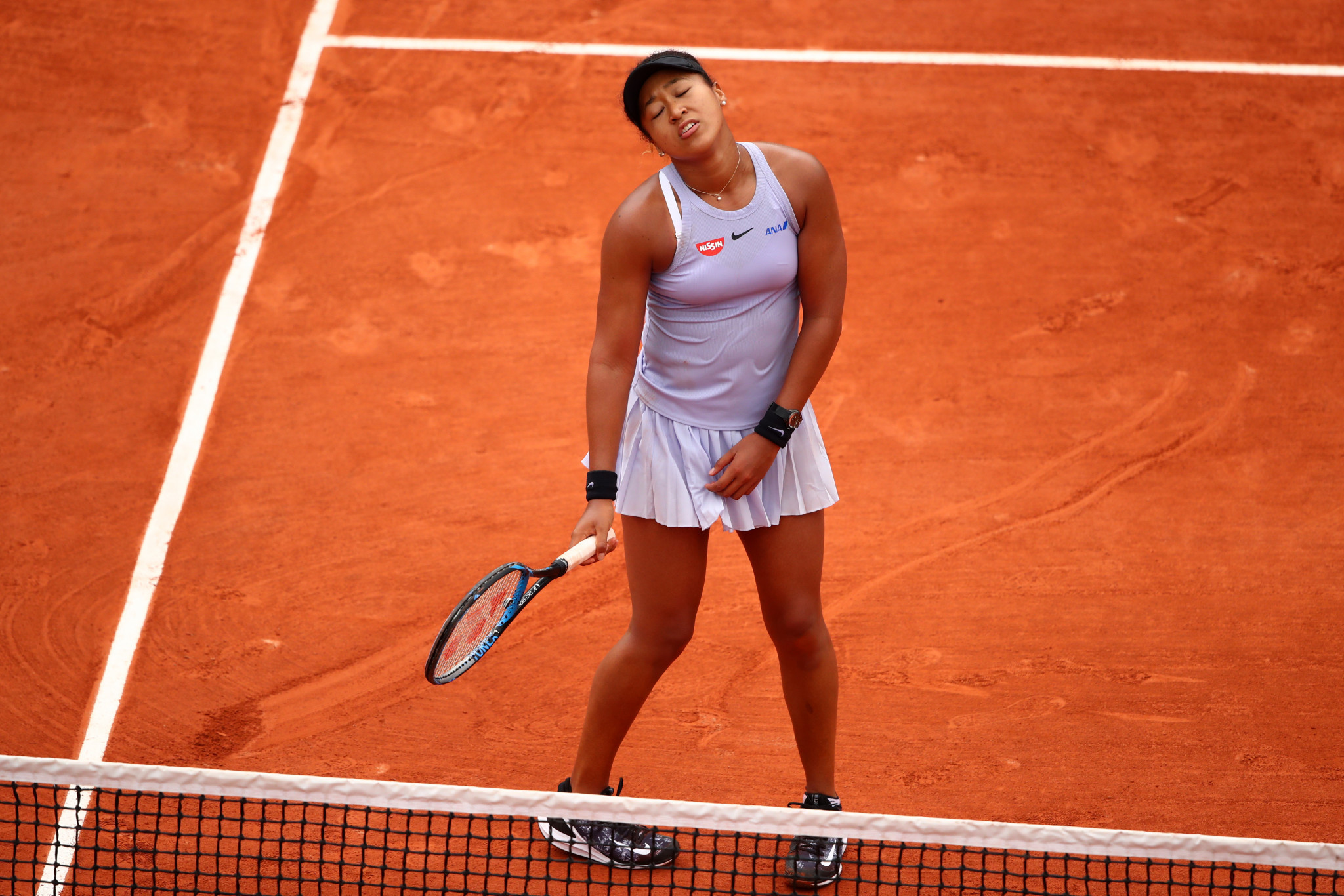 Naomi Osaka went through the doldrums before seeing off Azarenka at the French Open