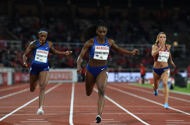 Britain's Dina Asher-Smith earned her second IAAF Diamond League 200m win of the season in a 2019 world-leading time of 22.18 despite the chilly conditions in Stockholm's 1912 Olympic Stadium ©Getty Images