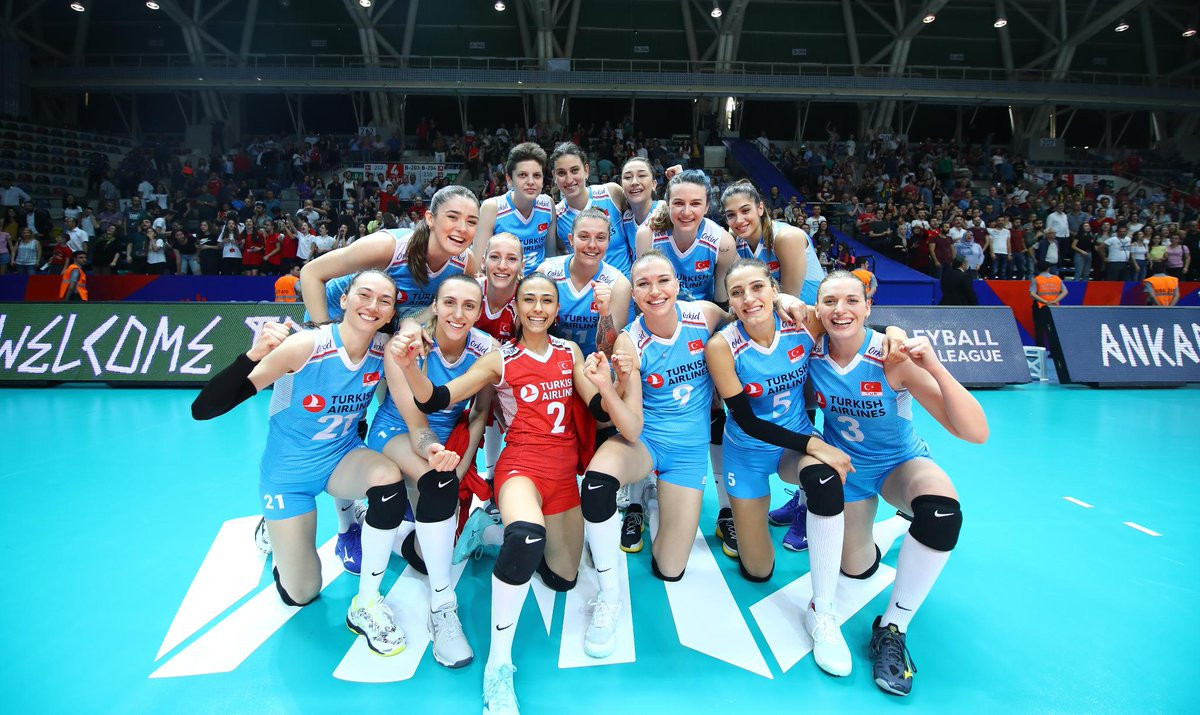 Turkey defeated Russia in three sets in the FIVB Women's Nations League ©FIVB