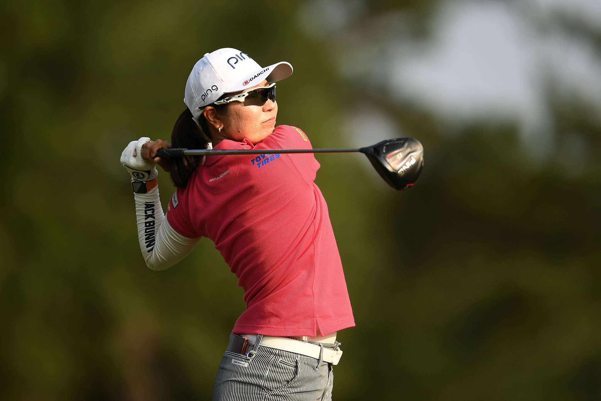 Higo records lowest debut score to take one-point lead at US Women's Open