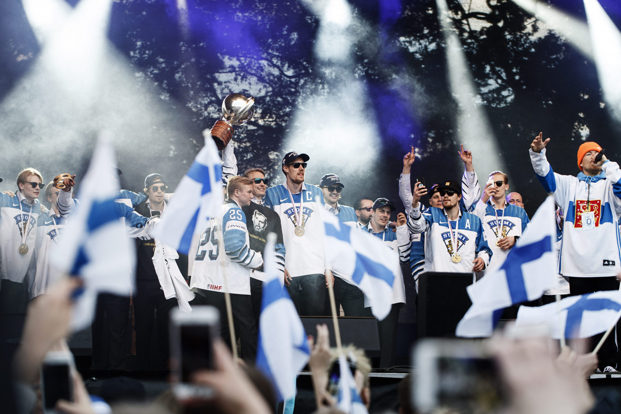 International Ice Hockey Federation Ice Hockey world champions Finland will bid to retain their title in Zurich, Switzerland in 2020 ©USAHockeyArena