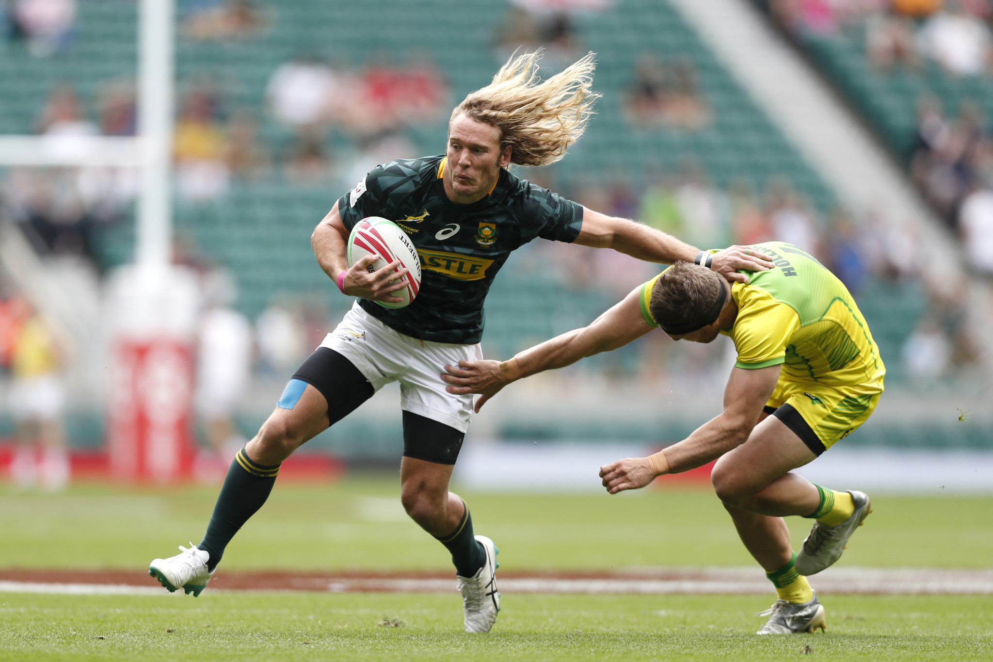 South Africa will qualify for the Tokyo 2020 Olympic Games just for taking to the pitch at Stade Jean Bouin in Paris ©Getty Images
