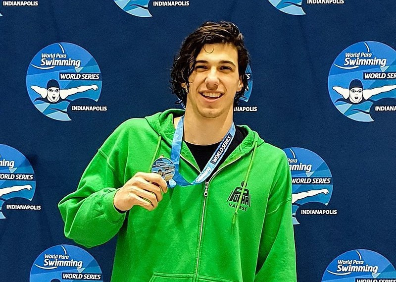 Two-times world champion Barlaam claims gold at home World Para Swimming World Series