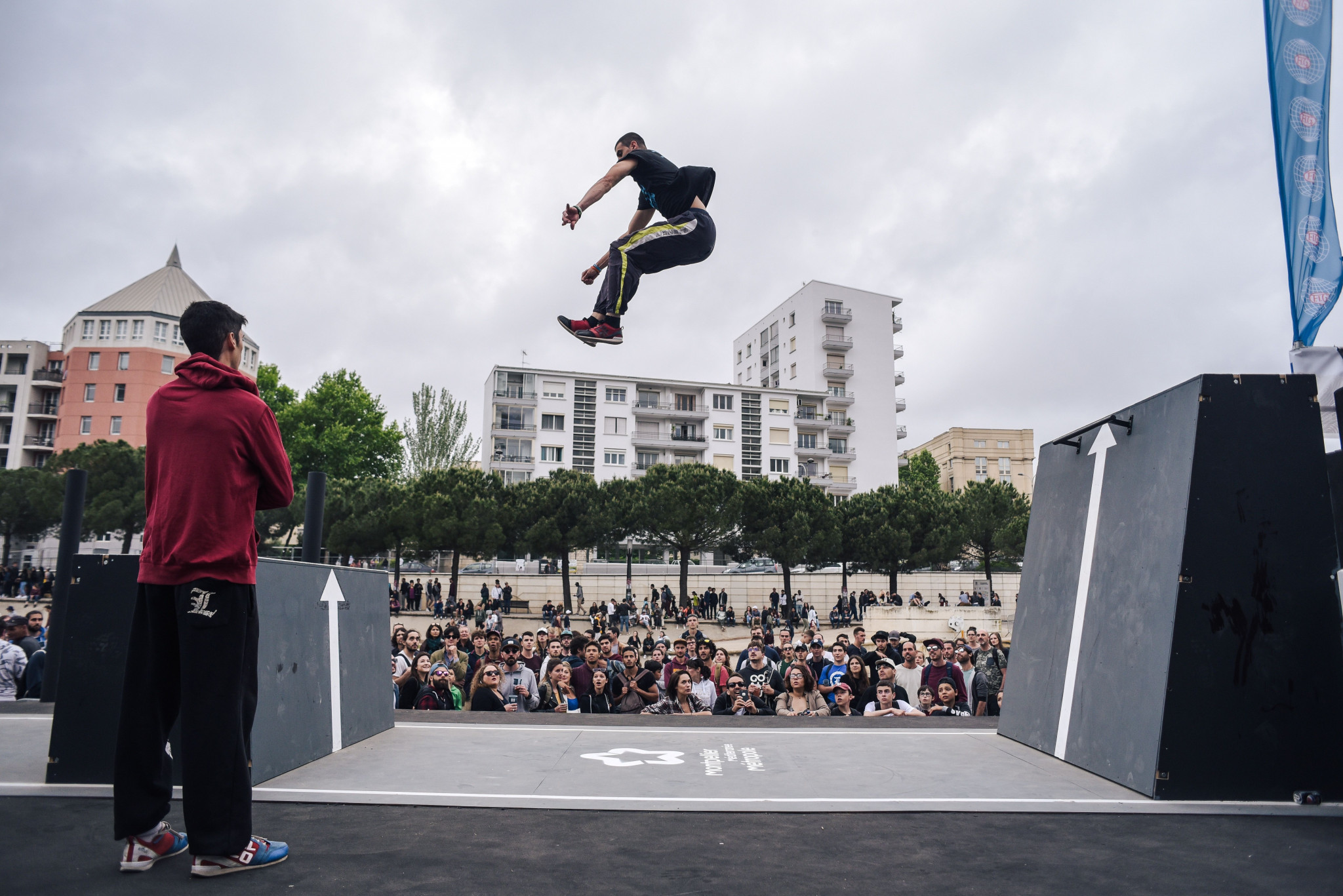 Veteran Kyrsanidis misses out on speed run finals at FIG Parkour World Cup