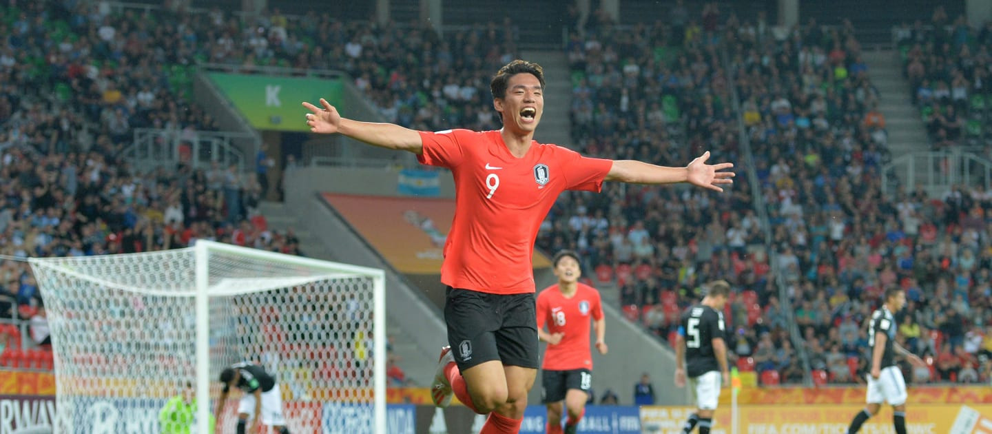 South Korea stun Argentina to secure qualification for knockout stage at FIFA Under-20 World Cup