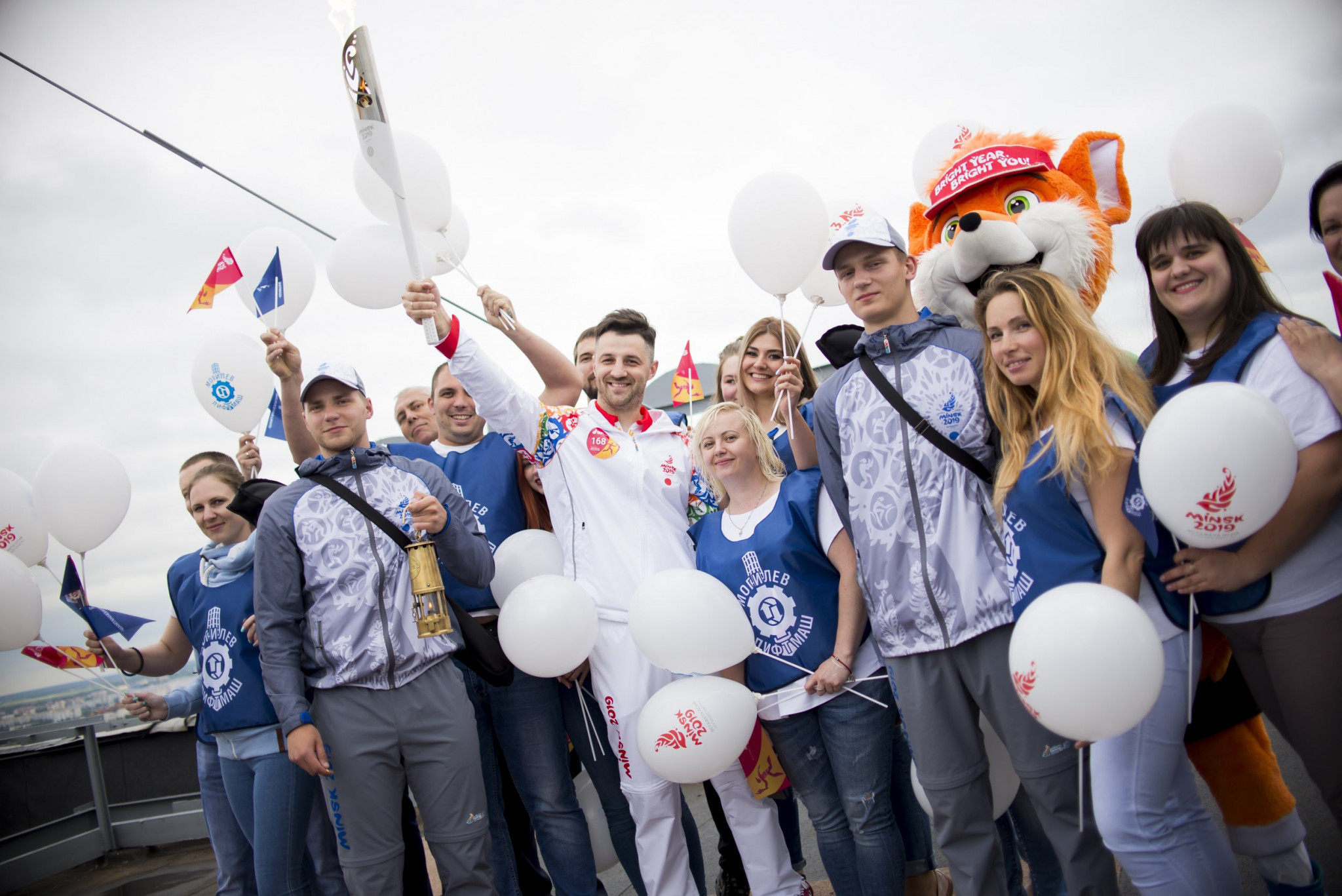 European Games Flame inches closer to Minsk with Shklov visit