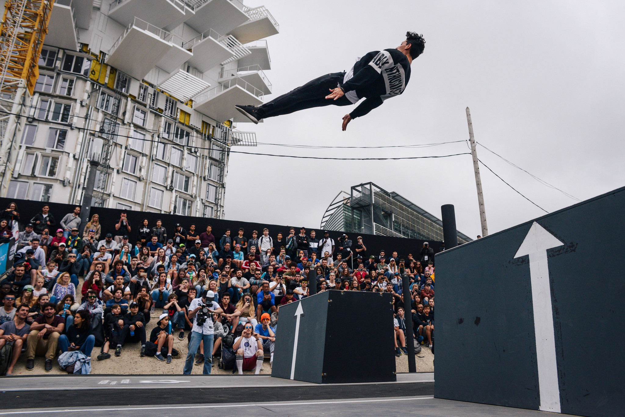 The inaugural Urban Sports Summit was held at the International Festival of Extreme Sports World Series event in Montpellier, France ©Getty Images