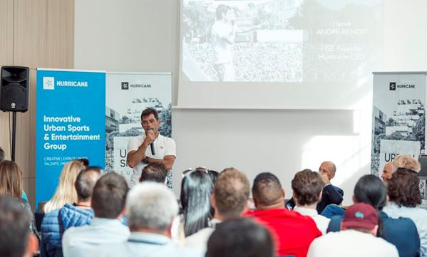 The two-day Urban Sports Summit brought together more than 100 delegates in Montpellier, France ©Hurricane Group