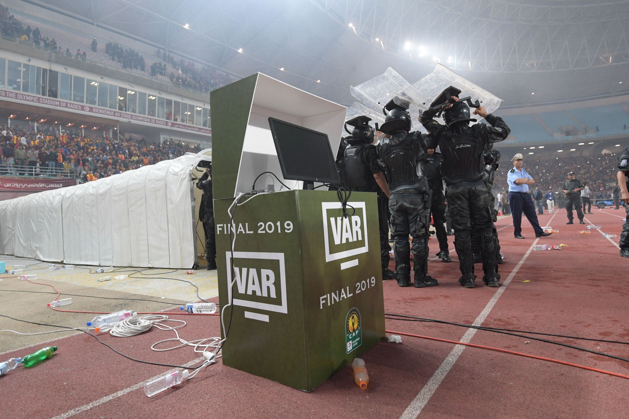 Reports claim the VAR system was unavailable due to a fault but the players had not been informed ©Getty Images