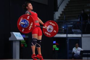 The first medal of the Championships was won by Vietnam's My Phuong Khong in the women's 45kg ©IWF