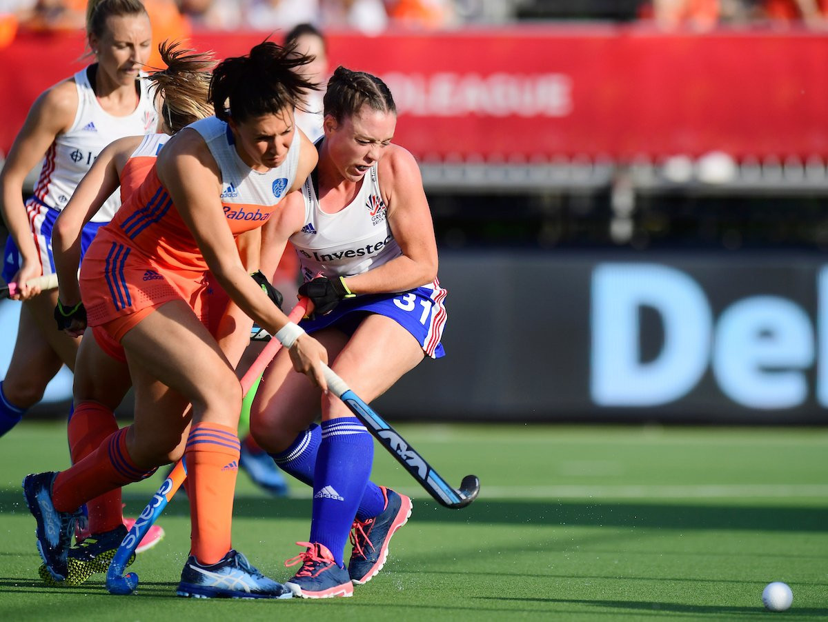 The Netherlands consolidated their lead at the top of the women's International Hockey Federation Pro League standings ©GB Hockey