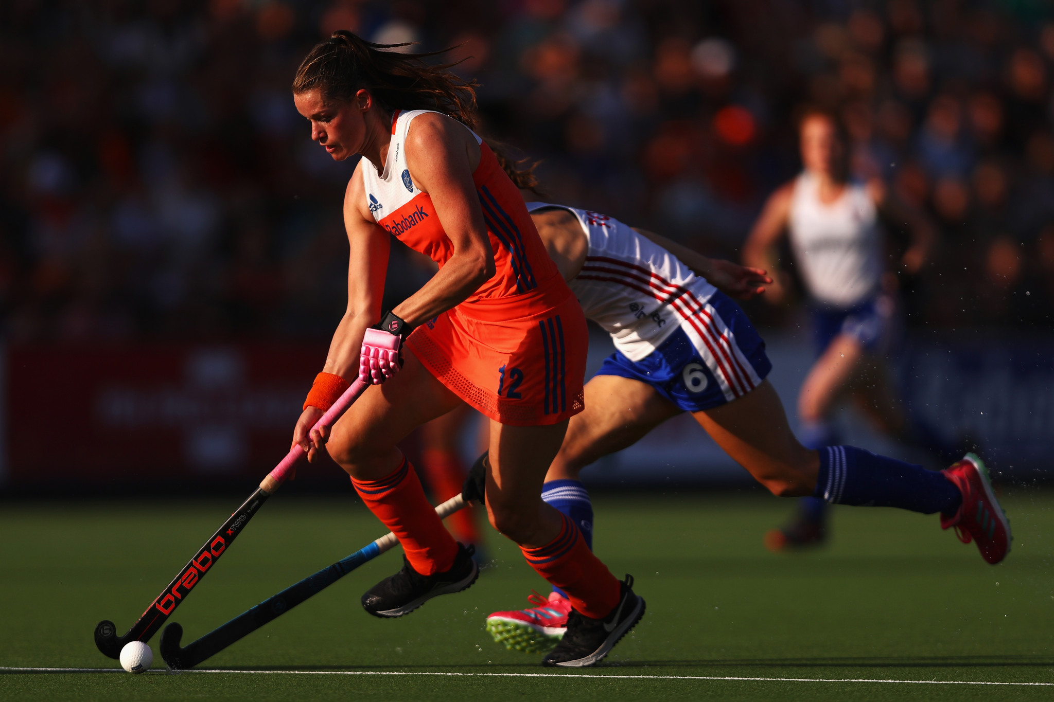 Two goals in the first 20 minutes were enough for the Dutch to beat Britain ©Getty Images