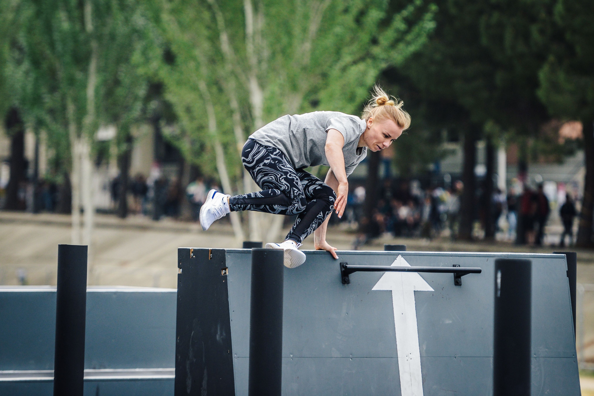 Shevchenko wows judges to win FIG Parkour Freestyle World Cup in Montpellier