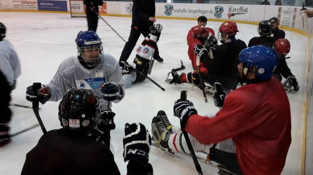 Ice Sledge Hockey development camp declared a success