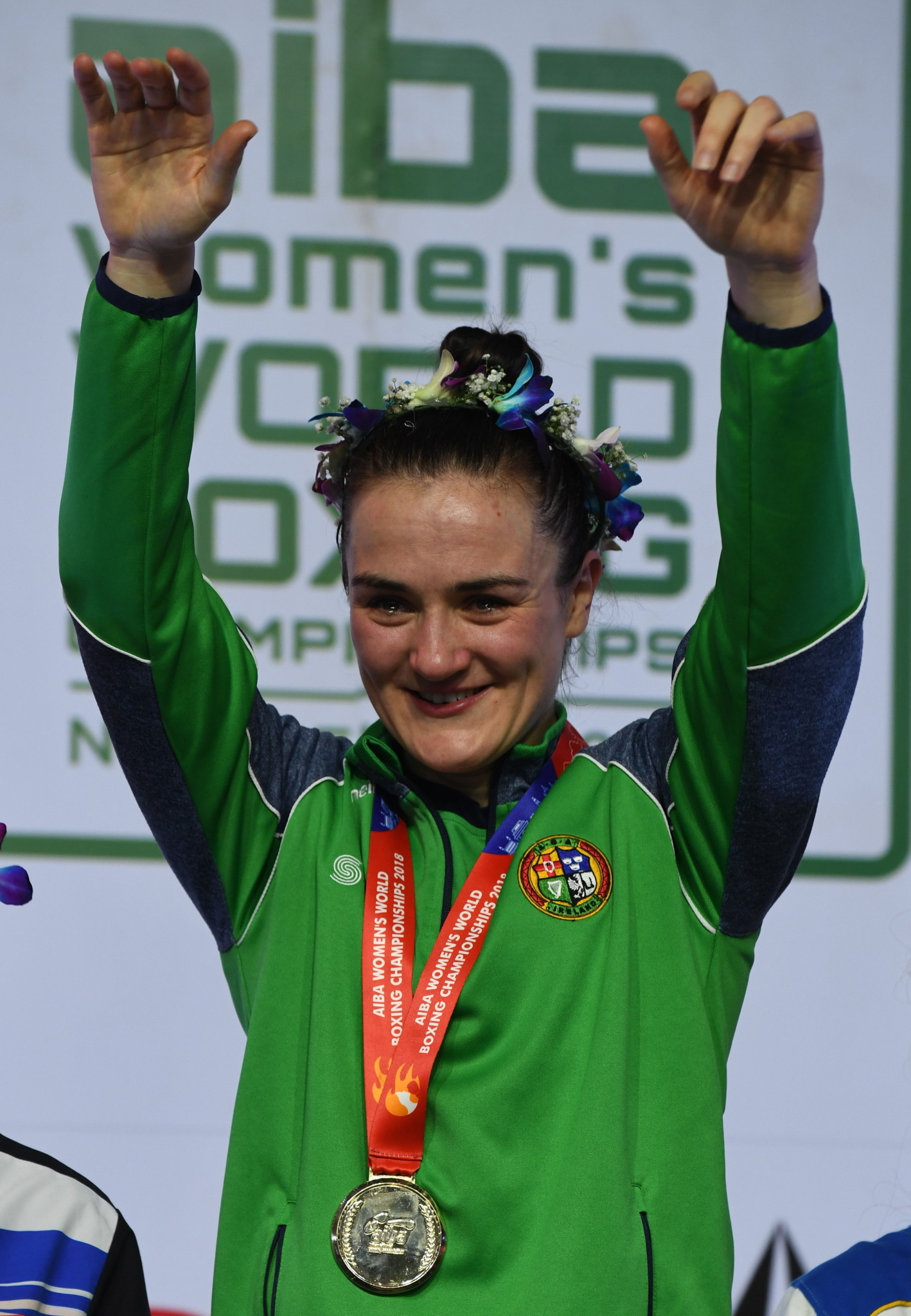 Kellie Harrington is among the 65 Irish athletes selected for the European Games ©Getty Images