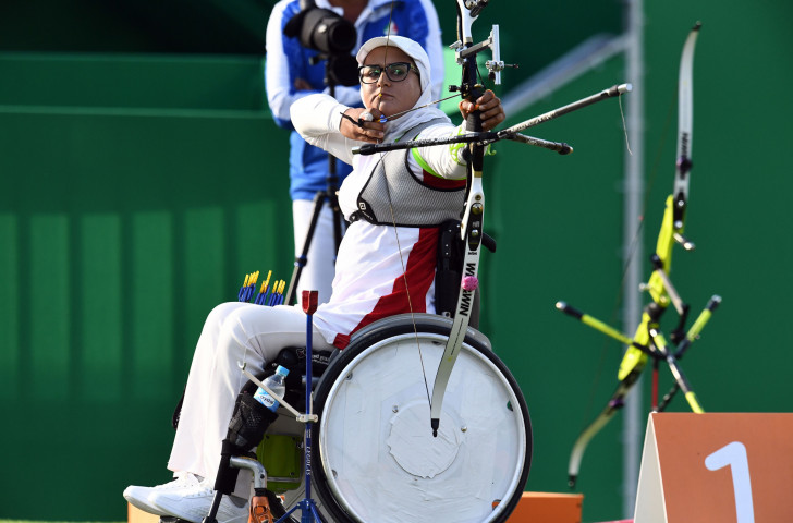 Iran's Paralympic champion Zahra Nemati is set to face a strong challenge from China's Wu Chunyan as she seeks to defend her women's recurve open title at the World Archery Para Championships in The Netherlands ©Getty Images