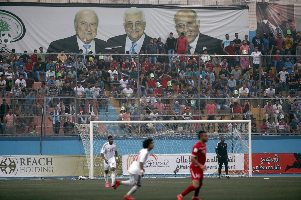Saudi Arabia had objected to playing in Palestine