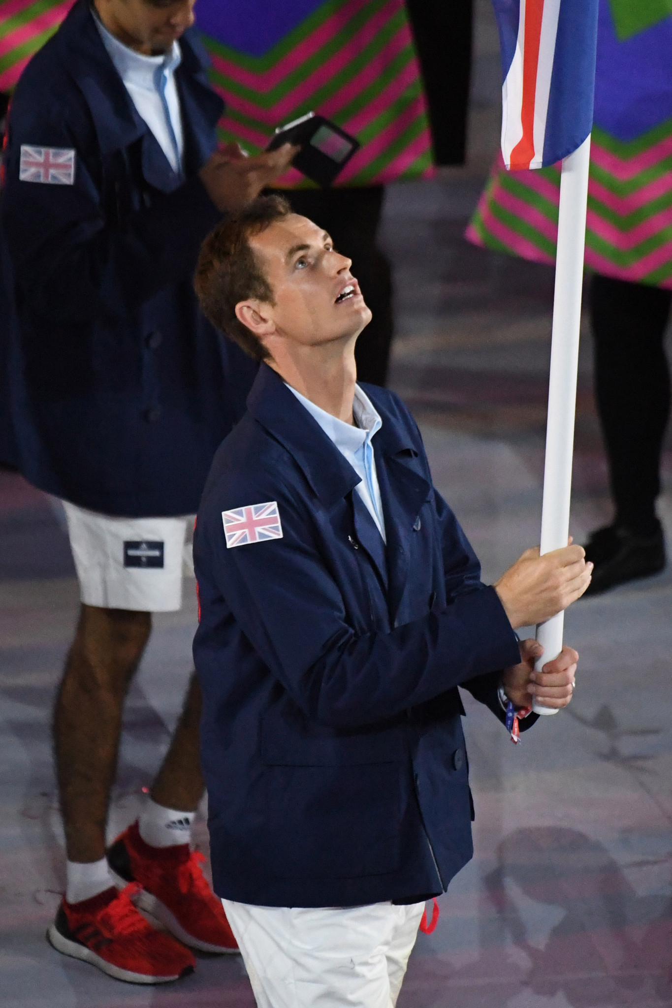 Sir Andy Murray was flagbearer for Team GB at Rio 2016 before winning his second consecutive Olympic gold medal in the men's singles, defending the title he had won at London 2012 ©Getty Images