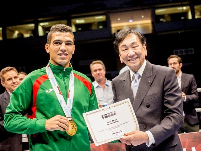 Africa's first World Championship gold medallist named as AIBA boxer of the month