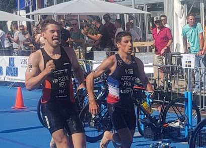 France have maintained their status as mixed relay European champions after a tight race in Weert ©F.F.TRI.