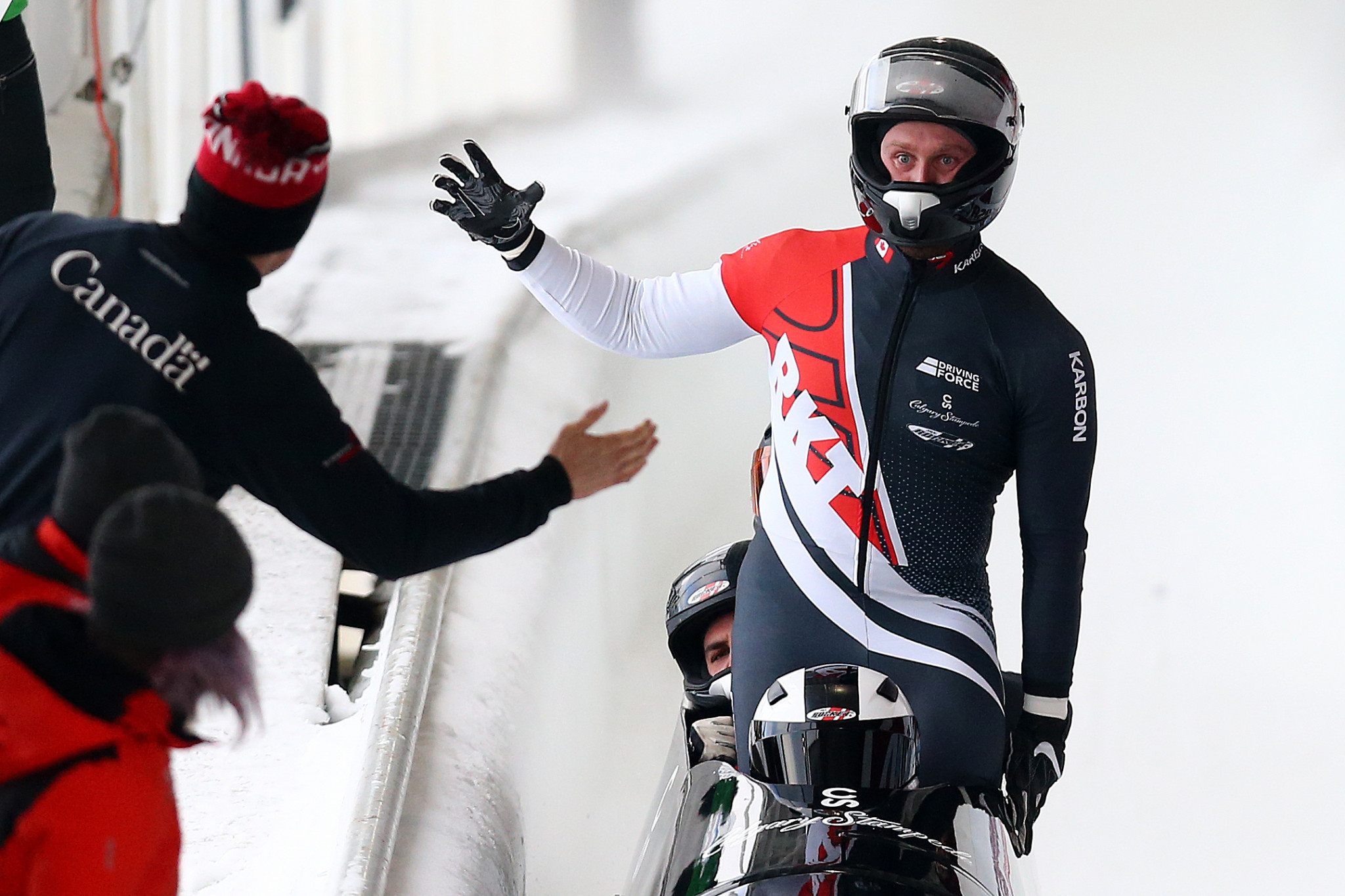 Bobsleigh Canada Skeleton will use recruitment drives to find the next generation of Olympic athletes ©Getty Images