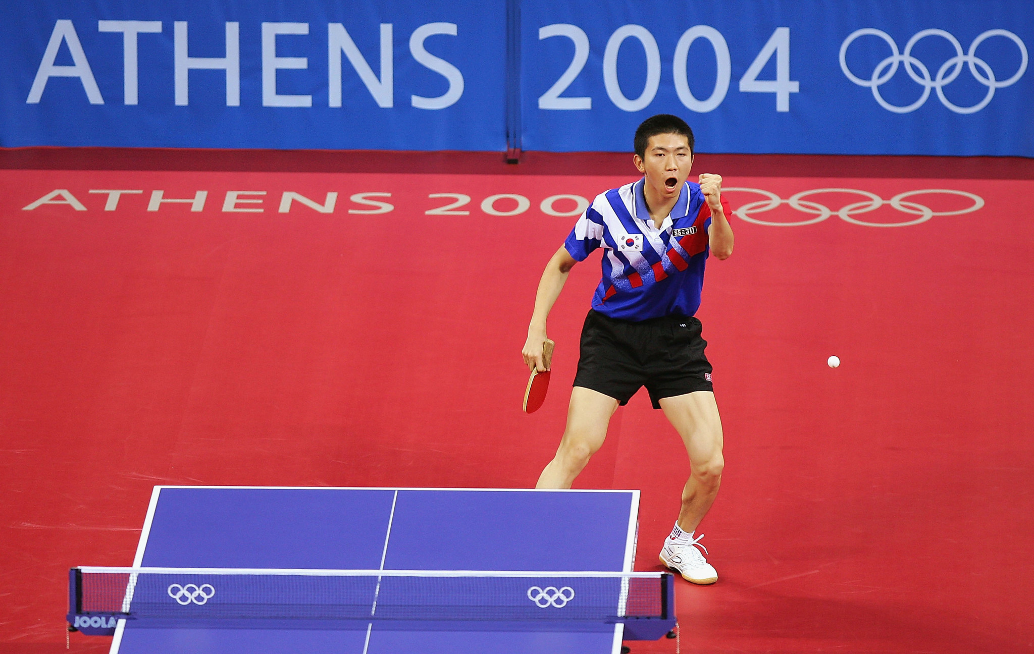 Ryu Seung-min was the last South Korean to win an Olympic gold medal in table tennis, at Athens 2004, when he claimed victory in the men's singles ©Getty Images