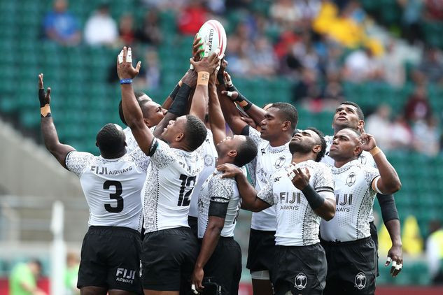 An inspired Fiji won the last final of the World Rugby Sevens Series in Paris today and clinched their fourth overall Series win ©World Rugby