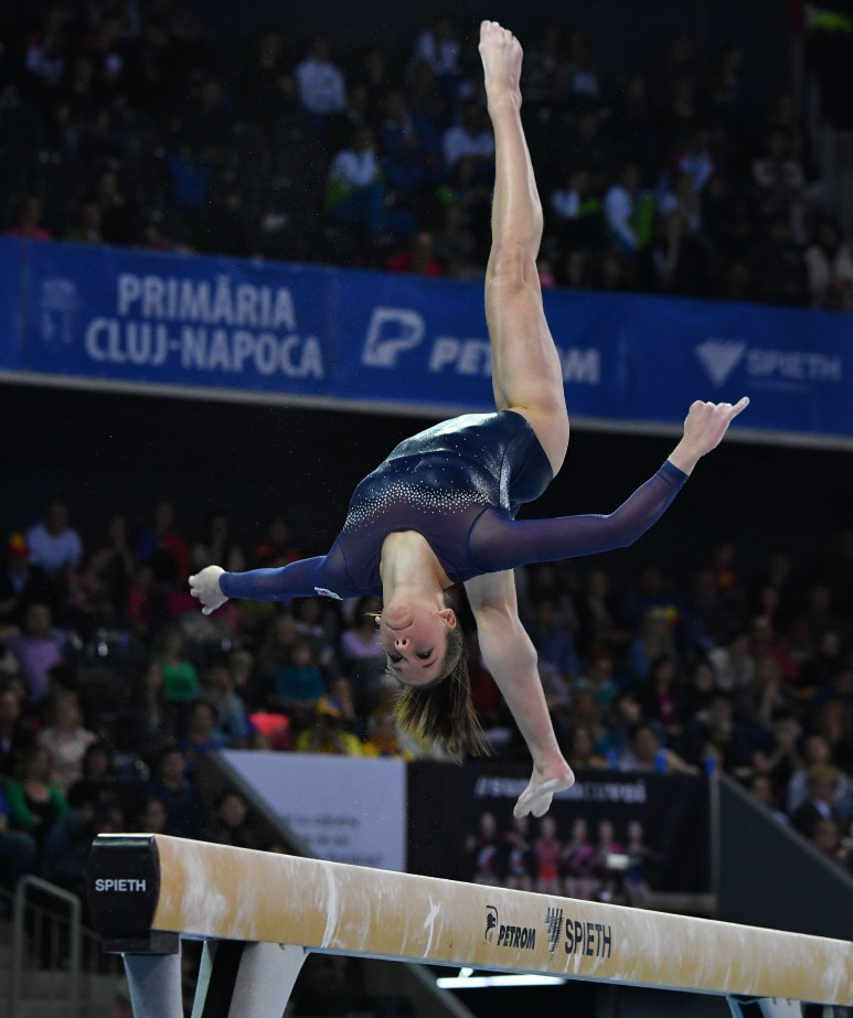 Kovács clinches second gold medal at FIG World Challenge Cup