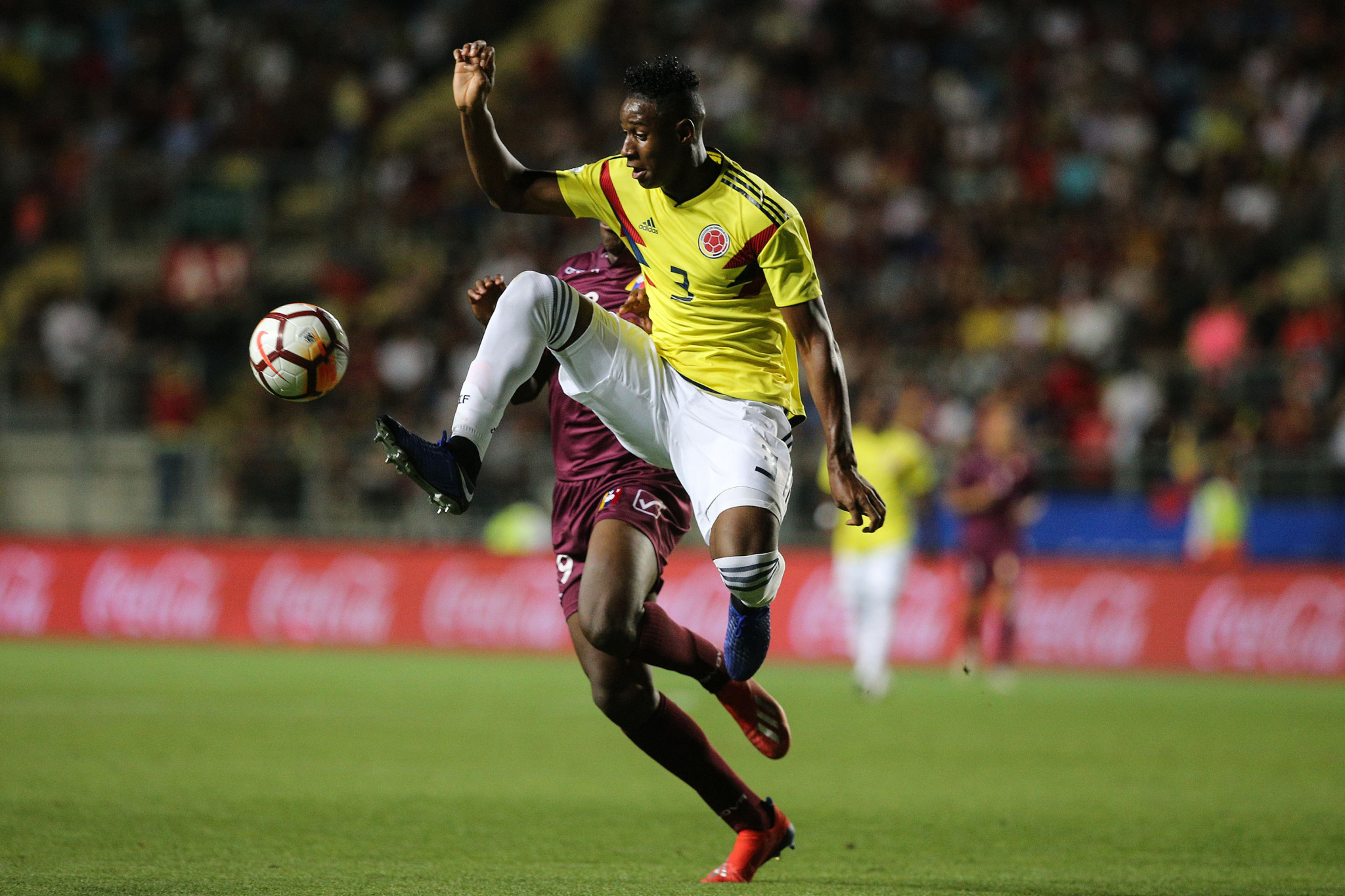 Andres Reyes scored Colombia's opener against New Zealand ©Getty Images