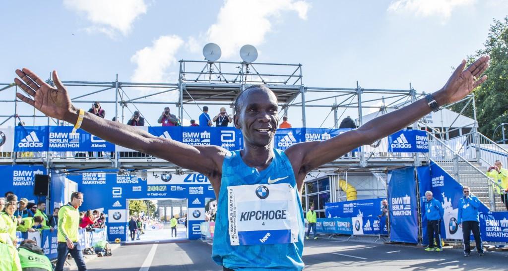 Eliud Kipchoge was in fine form at this year's Berlin Marathon