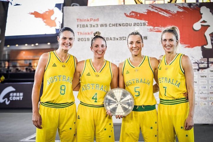 Australia won the first FIBA 3x3 Women's Series event in Chengdu ©FIBA