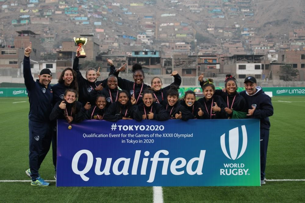 Brazil have qualified for the women's rugby sevens competition at the Tokyo 2020 Olympic Games ©World Rugby