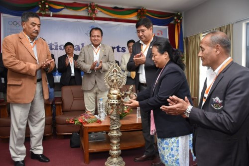 Nepal Olympic Committee call for closer ties between national governing bodies at National Sports Forum
