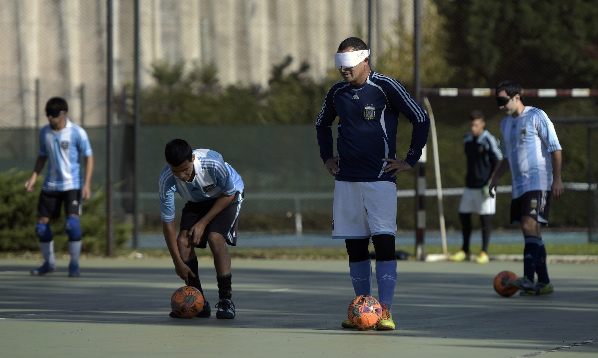 The IBSA Blind Football Americas Championships is being held at the Brazil Paralympic Training Centre in São Paulo where Argentina will be renewing their rivalry with hosts Brazil ©Getty Images